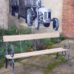 Garden Bench Pre Galvanising