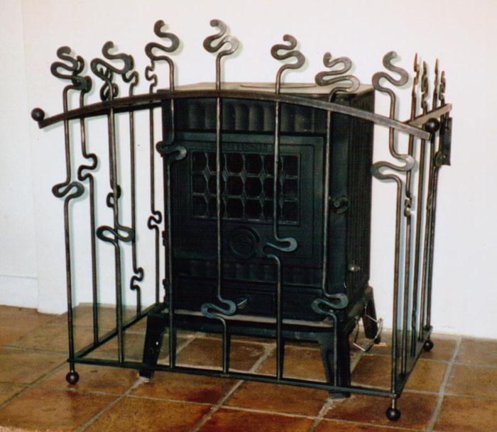 Art Nouveau Woodburner Guard