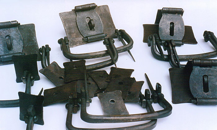 Metal Brackets and Handles