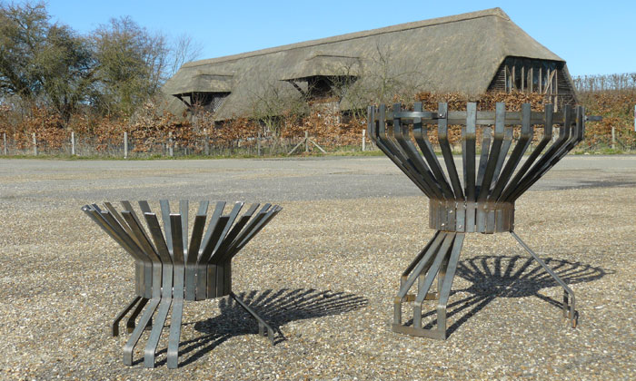 Fire-Pits at Woolton Farm Barn