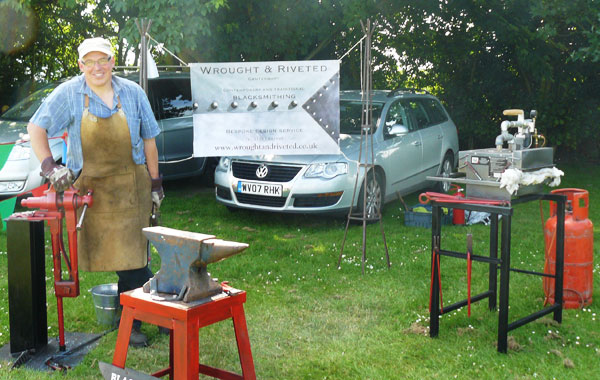 Wrought and Riveted at Staple Country Fayre