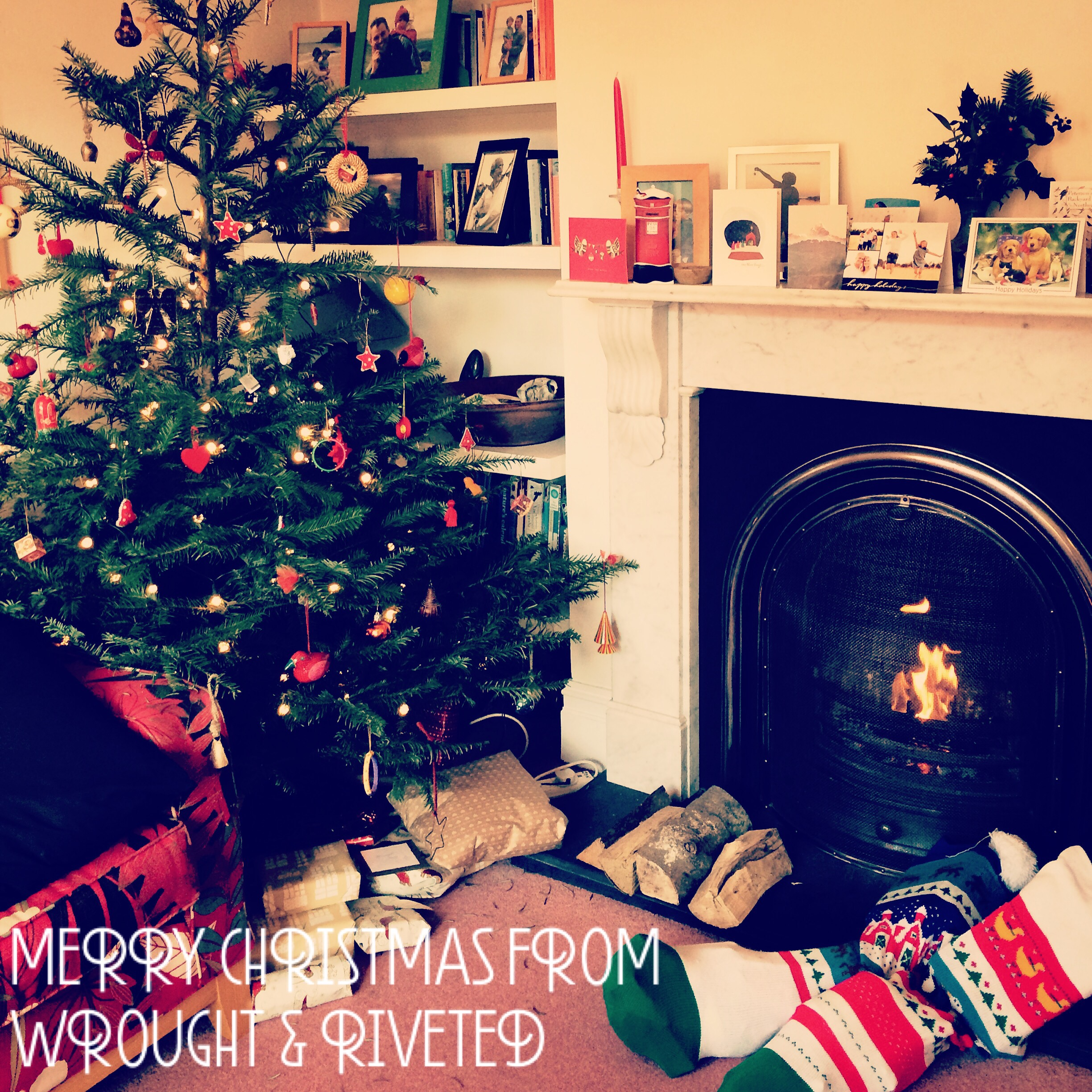 Happy Christmas from Wrought & Riveted