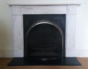 A fireguard made for a customer
